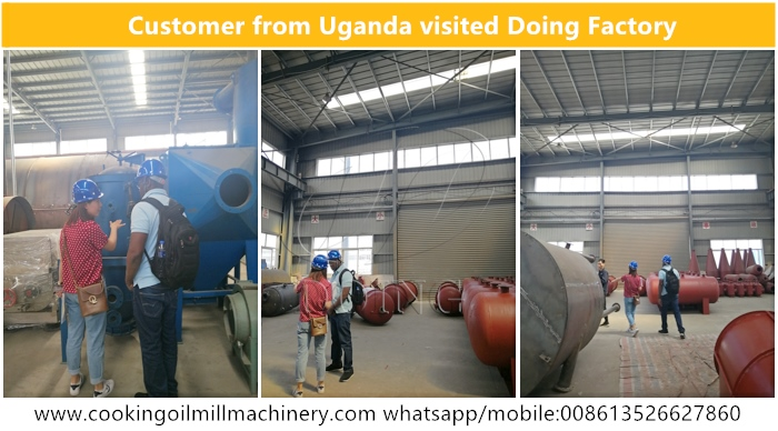 sunflower oil processing plant uganda