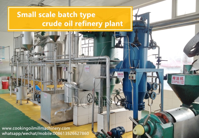 vegetable oil refinery plant