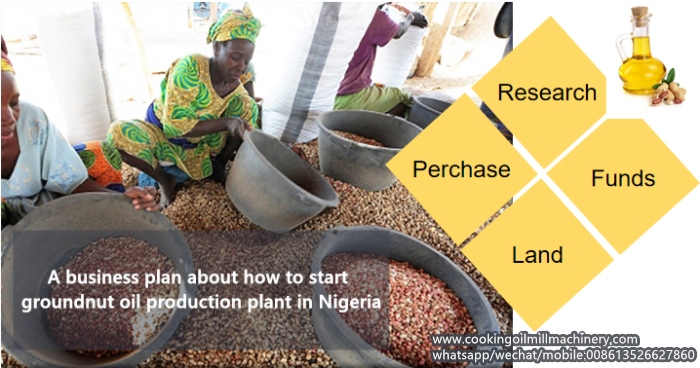 groundnut oil production in nigeria