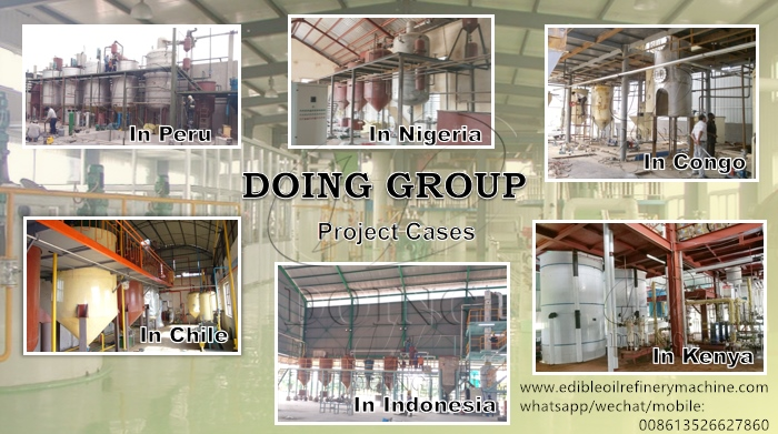 cooking oil refinery project