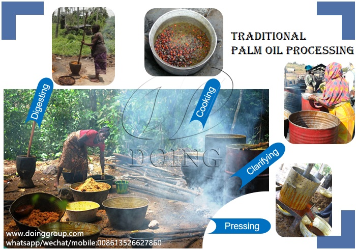 palm oil production in africa