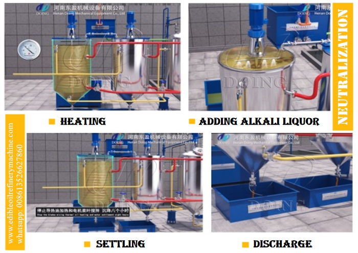 cottonseed oil deacidification process