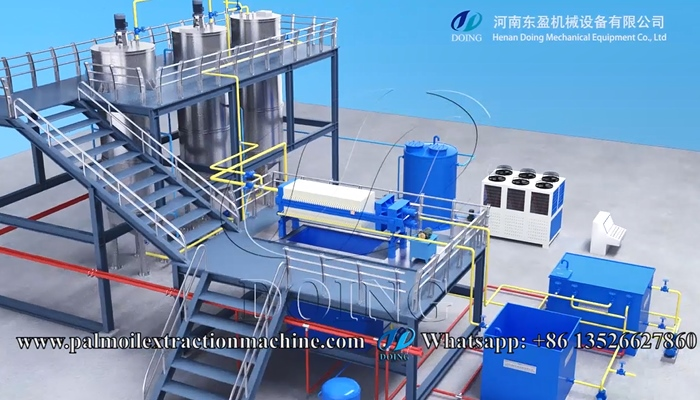 cotonseed oil fractionation machine