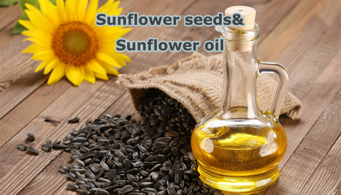 sunflower oil sunflower seed