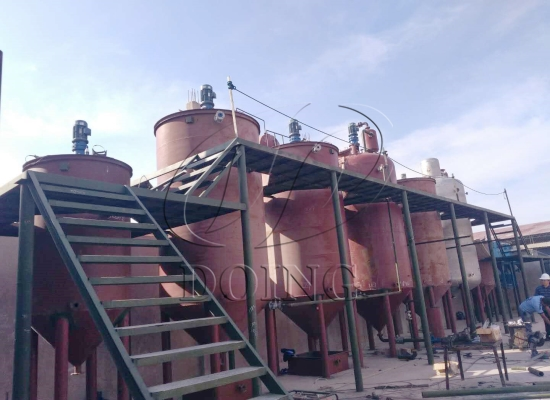 20TPD olive oil refinery plant project in Peru