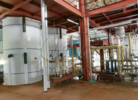 100TPD palm oil refinery plant project in Kenya